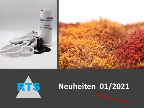 RTS Greenkeeper Neuheiten Titelbild 2021